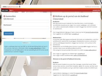 RU Portal - Radboud Universiteit