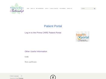 Patient Portal — Primary Care Partnership