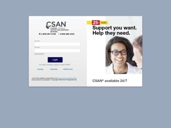 CSAN Patient Care Portal