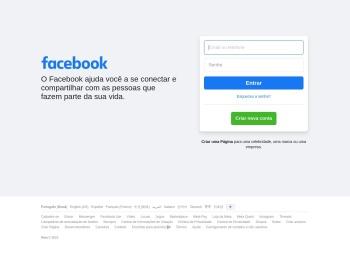 Facebook – entre ou cadastre-se