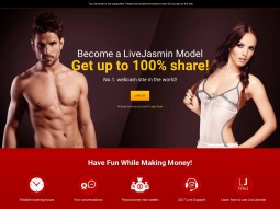 Model Sign Up LJ screenshot
