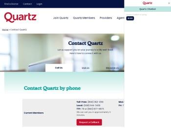 Contact Quartz Madison Wisconsin Health Insurance Plans ...