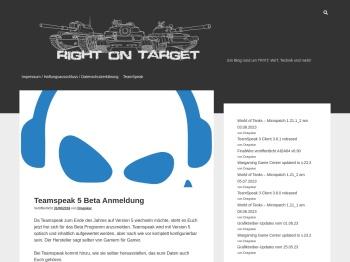 Teamspeak 5 Beta Anmeldung – Right on Target