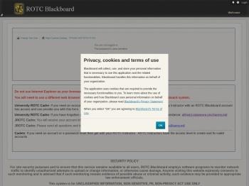 ROTC Blackboard - Blackboard.com