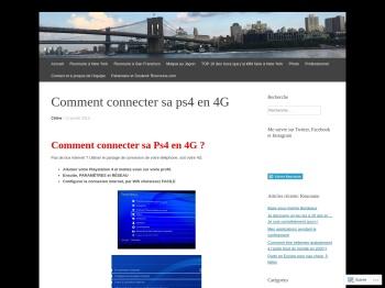 Comment connecter sa ps4 en 4G | Rouroune
