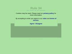 Rule 34 Paheal screenshot