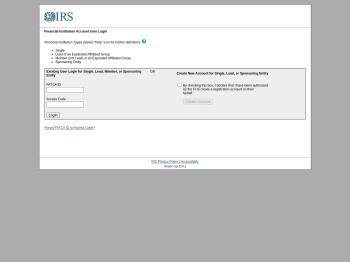 US IRS' FATCA Registration Portal - Planned Outage - Internal ...
