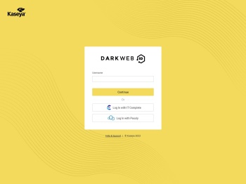 Dark Web ID: Account