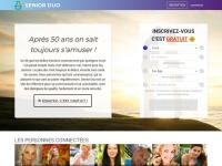 Seniorduo.com : Mieux qu'un site de rencontres ! Communauté et dialogues pour les seniors