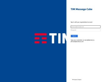 TIM Message Cube
