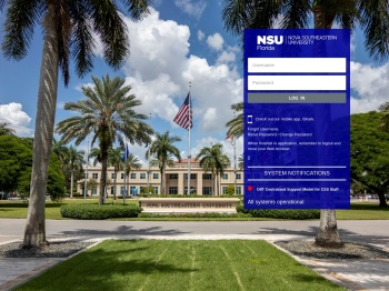 Login | Nova Southeastern University