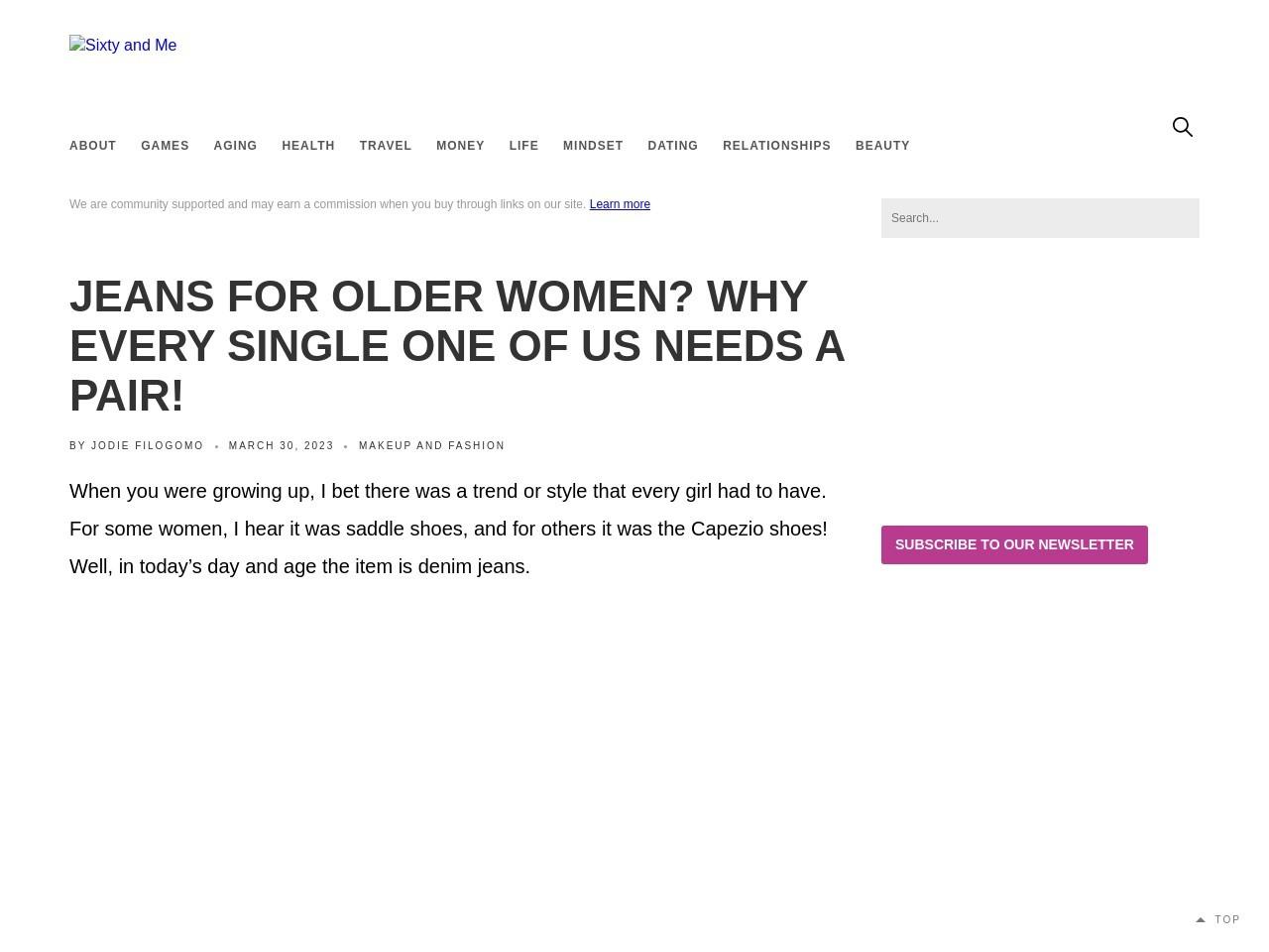 Blonde Females Jeans
