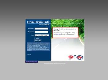 AAA - Service Provider Portal