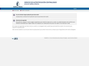 Servicio de Autentificación Centralizado - JCCM