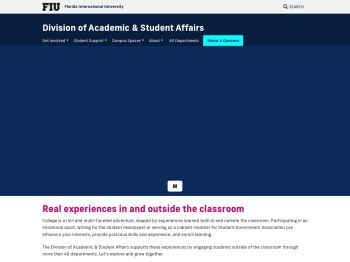 MyHealthInfo - Health & Wellness Student Affairs - FIU