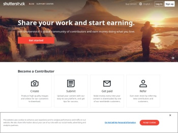 Shutterstock: Sell photos, footage clips, illustrations & vectors