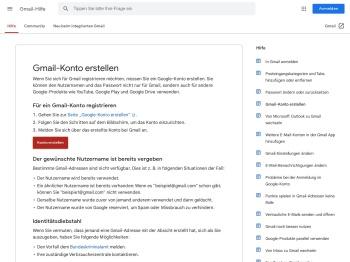 Gmail-Konto erstellen - Gmail-Hilfe - Google Support