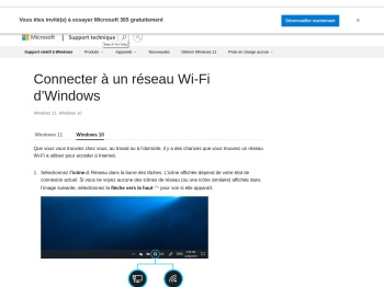 Connectez-vous à un réseau Wi-Fi sous Windows 10