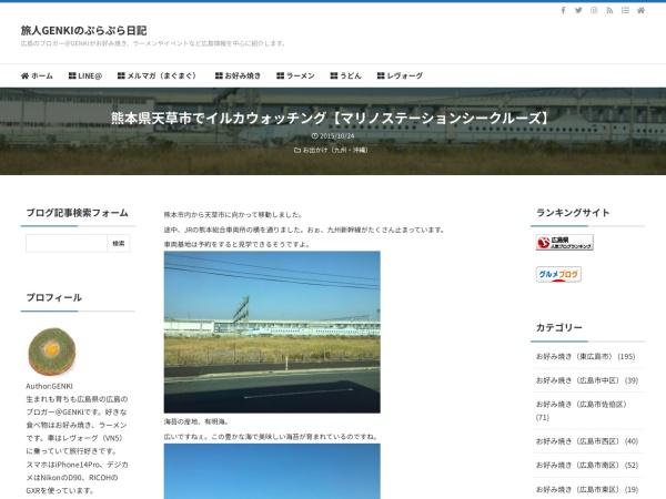 熊本県天草市でイルカウォッチング【マリノステーションシークルーズ】