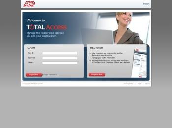 ADP Total Access - ADP Canada