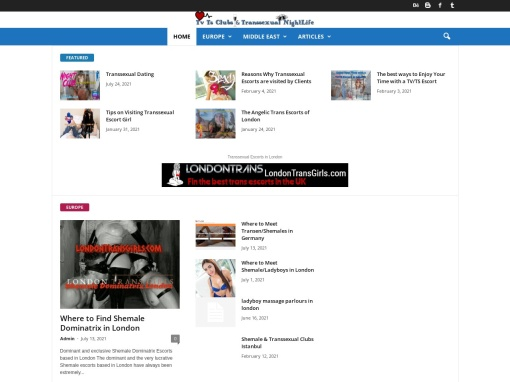 TvTSClubs screenshot