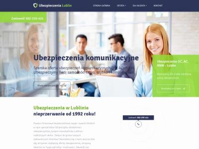 Ubezpieczenia Lublin | Polisy OC, AC, NW, majątkowe, na życie