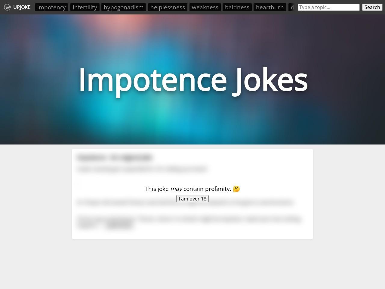 Impotence Meme