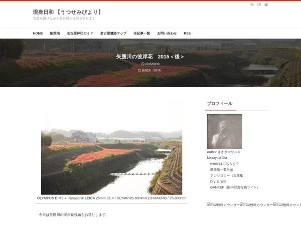 矢勝川の彼岸花 2015<後>