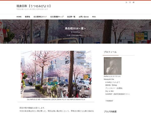 高岳桜2016<後>