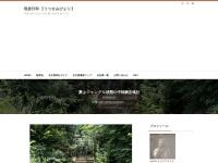 夏はジャングル状態の中味鋺忠魂社