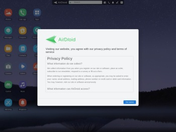 AirDroid Web   Manage your phone on web