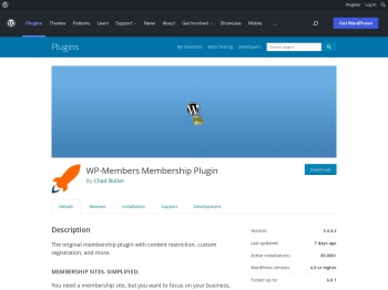 WP-Members Membership Plugin - WordPress.org