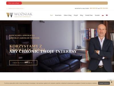 Adwokat Gniezno: Jarosław Woźniak - Kancelaria Września