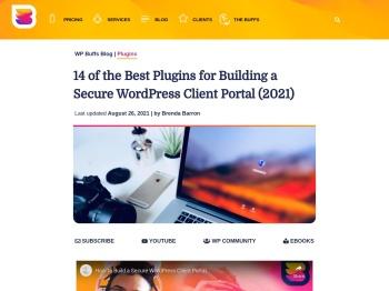 Building a Secure WordPress Client Portal (2021) - WP Buffs