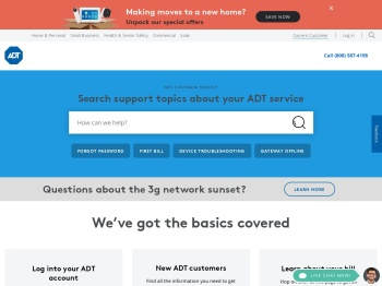 ADT® Customer Login: Manage Your Active ADT Account