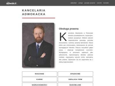 Adwokat Rzeszów - Kancelaria adw. Wiktor Gamracki
