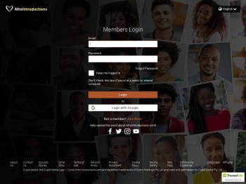 Login with Facebook - AfroIntroductions.com