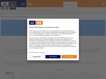 Rund um die SIM-Karte | ALDI TALK Online Shop