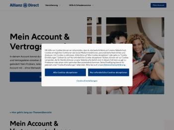 Mein Account - Allianz Direct