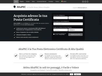 ^ AltaPEC | La Tua Pec Sicura, Libera e Semplice