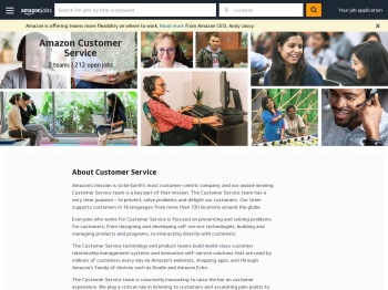 Amazon Customer Service | Amazon.jobs