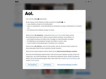 AOL.de | Kostenlose Email, Nachrichten & Wetter, Finanzen ...