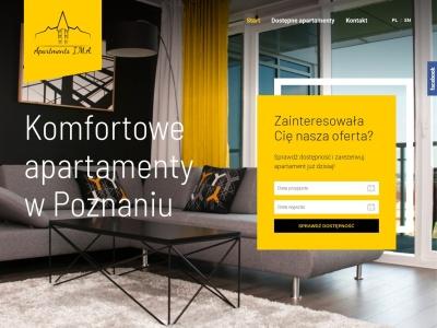 Apartamenty  w Poznaniu - tanie noclegi poznań
