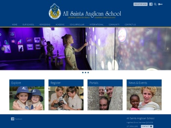 All Saints Anglican School: Cherish Your Curiosity