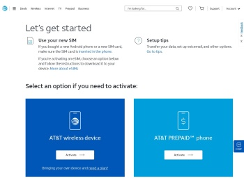 AT&T Order Status Activation Portal: - Activate your wireless ...