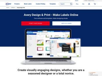 Free Label Printing Software - Avery Design & Print | Avery.com