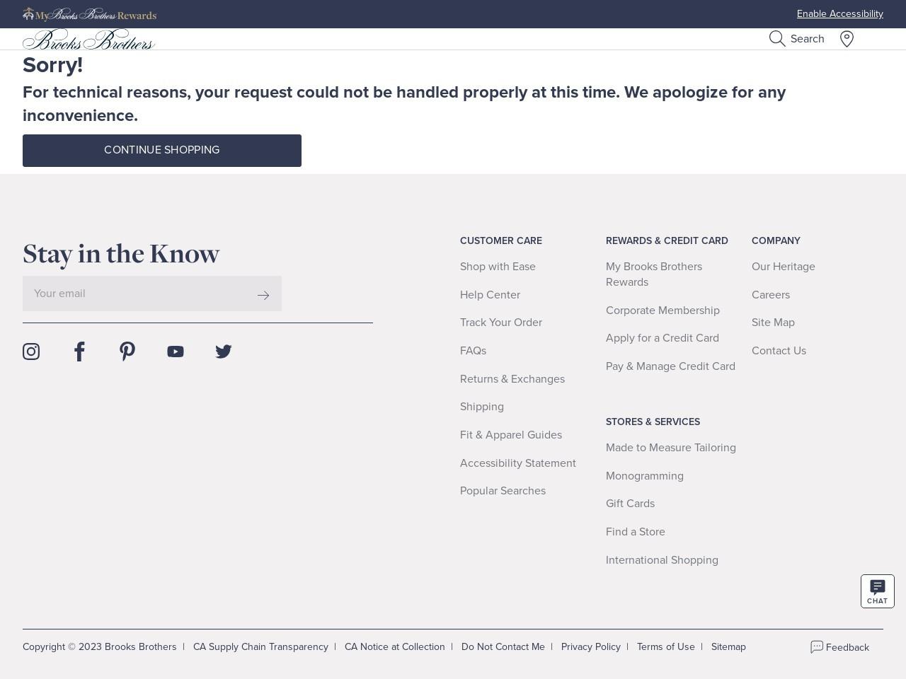 The Brooks Card & Brooks Brothers Platinum MasterCard