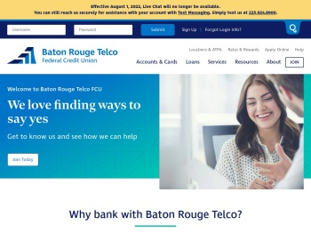 Baton Rouge Telco Federal Credit Union: Home