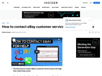 How to contact eBay support by phone, email or live chat