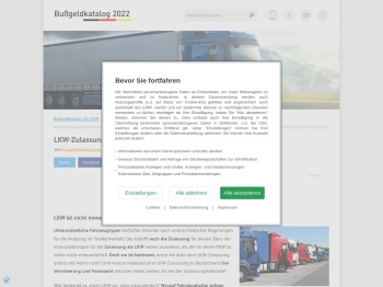 LKW-Zulassung: Das Wichtigste im Überblick - LKW 2020